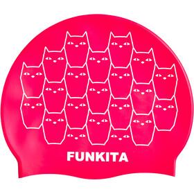 Funkita Silicone Naiset uimalakki , vaaleanpunainen